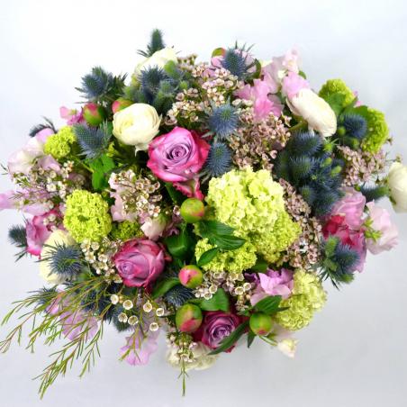 Bouquet rond affection (Taille M 115€)