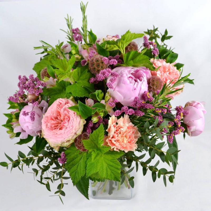 Bouquet rond champêtre (Taille M 46€)